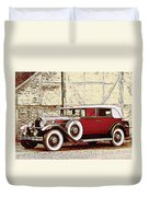Packard Standard Eight Convertible Duvet Cover