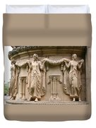 Palace Of Fine Art Relief  Duvet Cover