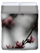 Peach Blossom II Duvet Cover