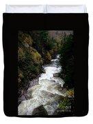 Pemigewasset River White Mountains Duvet Cover