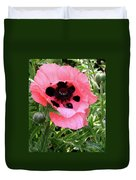 Poppy And Buds Duvet Cover