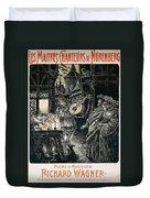 Poster Of The Mastersingers Of Nuremberg  Duvet Cover