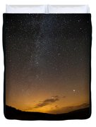 Road To The Milky Way Duvet Cover