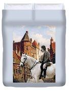 Scottish Deerhound Art Canvas Print Duvet Cover