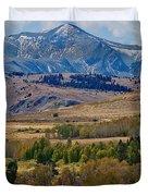 Sierras Mountains Duvet Cover