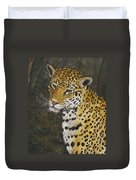 South American Jaguar Duvet Cover