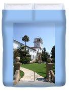 Santa Barbara Courthouse Duvet Cover