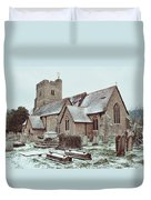 St Mary And All Saints Boxley Duvet Cover