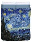 The Starry Night  Duvet Cover