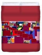 Start With Alef 5 Duvet Cover by David Baruch Wolk