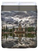 Stone Flower Moscow Duvet Cover
