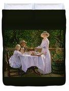 Summer Afternoon Tea Duvet Cover