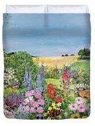 Summer From The Four Seasons Duvet Cover