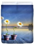 Summer Morning Magic Duvet Cover