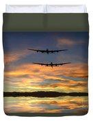 Sunset Lancasters Duvet Cover