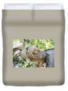 Sycamore Tree's Twisted Trunk Duvet Cover