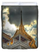 Temple Roof Duvet Cover