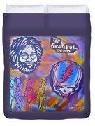 The Grateful Dead Duvet Cover