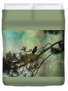 The Old Pine Tree Duvet Cover