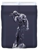 The Sculpture Of Auguste Rodin Duvet Cover