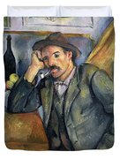 The Smoker Duvet Cover by Paul Cezanne