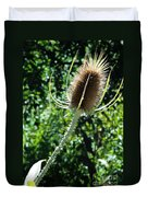 Thistle Plant Duvet Cover
