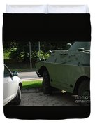 Vehicle Of The Future Duvet Cover