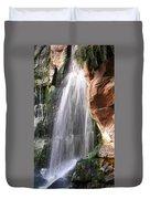 Veil Of Water Duvet Cover