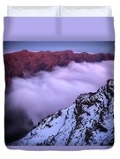 View Across The Caldera Taburiente Duvet Cover