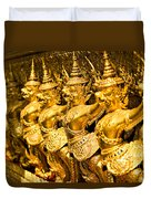 Wat Phra Kaeo Temple - Bangkok - Thailand.  Duvet Cover