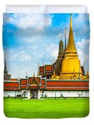 Wat Phra Kaew - Bangkok Duvet Cover