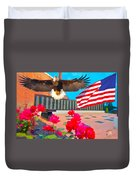 We Are All American's    Americans For All Duvet Cover
