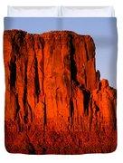 West Mitten Sunset Duvet Cover