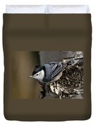 White-breasted Nuthatch Pictures 35 Duvet Cover