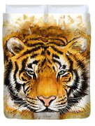 Wild Tiger Duvet Cover