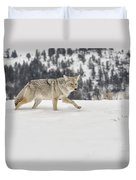 Winter's Determination Duvet Cover