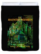 Haunted Mansion Poster Work A Duvet Cover