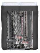 0007 Radio City Music Hall Duvet Cover