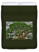 001 Bonsai Summer Show Buffalo Botanical Gardens Series Duvet Cover