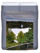 001 Hoyt Lake Autumn 2013 Duvet Cover