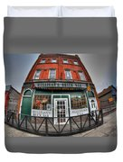 001 Mulligans Brick Bar Duvet Cover