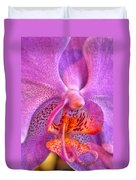 001 Orchid Summer Show Buffalo Botanical Gardens Series Duvet Cover