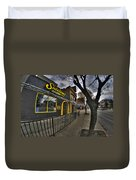 001 Sidelines Sports Bar And Grill Duvet Cover