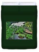 001 Within The Rain Forest Buffalo Botanical Gardens Series Duvet Cover