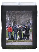 0010 Bloody Marys At The Turkey Trot 2014 Duvet Cover