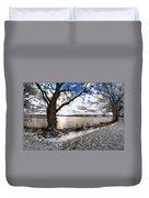 0010 Grand Island Bridge Series Duvet Cover