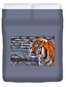0010 Siberian Tiger Duvet Cover