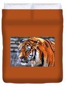 0011 Siberian Tiger Duvet Cover