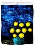 Earthshine Duvet Cover