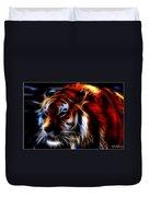 0012 Siberian Tiger Duvet Cover